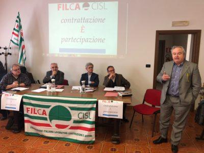 """Ferraris al convegno nazionale Filca: """"Contrattazione elemento qualificante per aziende, territorio e comunità"""""""