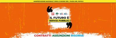 Futuro è Servizi Pubblici: l'8 giugno a Roma per cambiare e migliorare i servizi pubblici