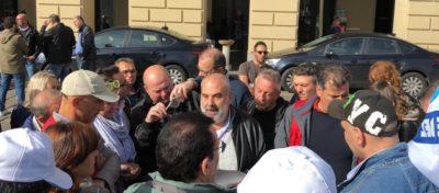 Presidio lavoratori autostrade e trafori a Torino il 25 ottobre