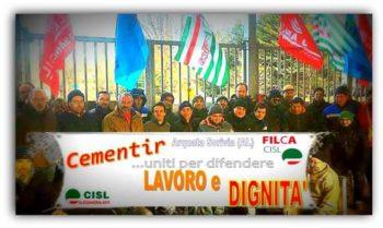 """Accordo raggiunto alla """"Cementir"""" di Arquata Scrivia (AL):  i 23 dipendenti licenziati saranno ricollocati"""