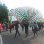 outlet protesta pasqua 2017 in piazza