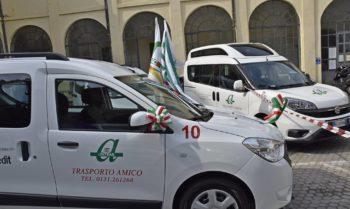 """Il """"Trasporto Amico"""" dell'Anteas alessandrina inaugura l'undicesima autovettura e cerca nuovi autisti volontari"""