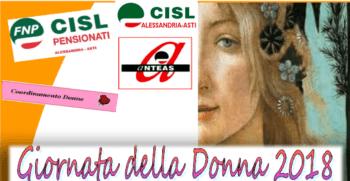 Otto marzo 2018, donne in pista con immagini, suoni e voci. Tutte le iniziative Cisl in programma ad Alessandria ed Asti