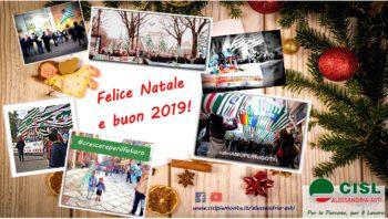 Auguri di Buone Feste! *** Chiusura sedi Cisl Alessandria-Asti per festività natalizie