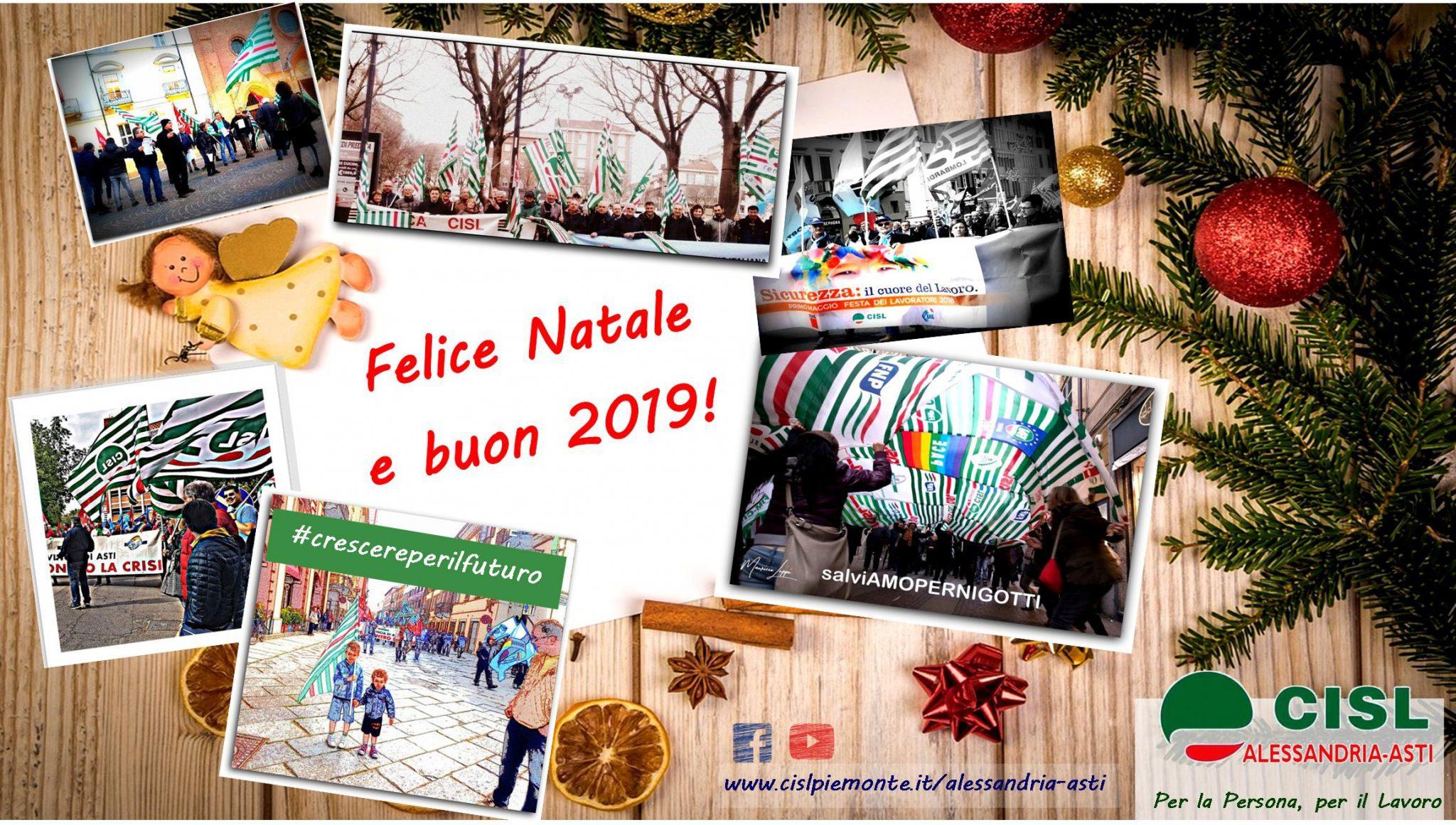 Buon Natale E Buone Feste Natalizie.Auguri Di Buone Feste Chiusura Sedi Cisl Alessandria Asti Per