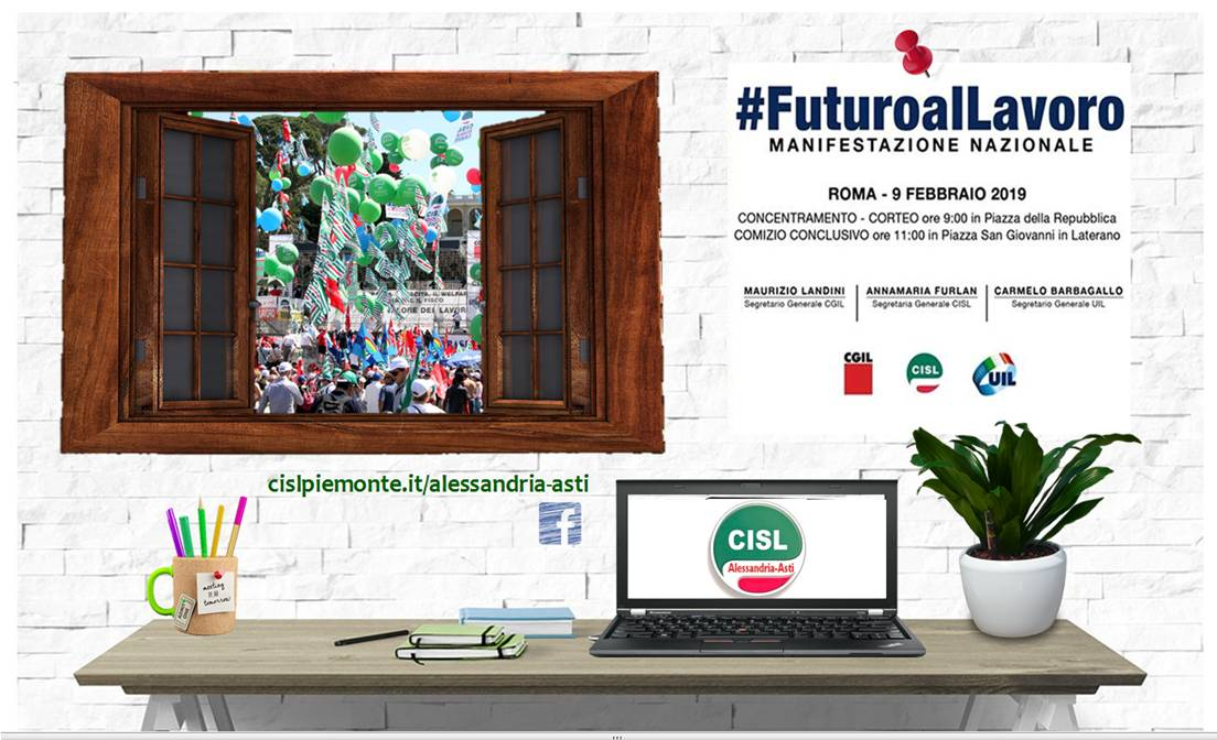futuro al lavoro Roma 2019 Cisl
