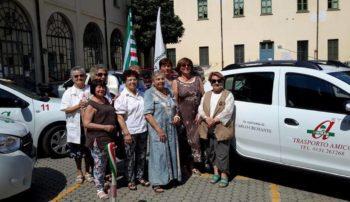 Inaugurata ad Alessandria l'auto n.15 di 'Trasporto Amico'. Cerchiamo nuovi autisti volontari!