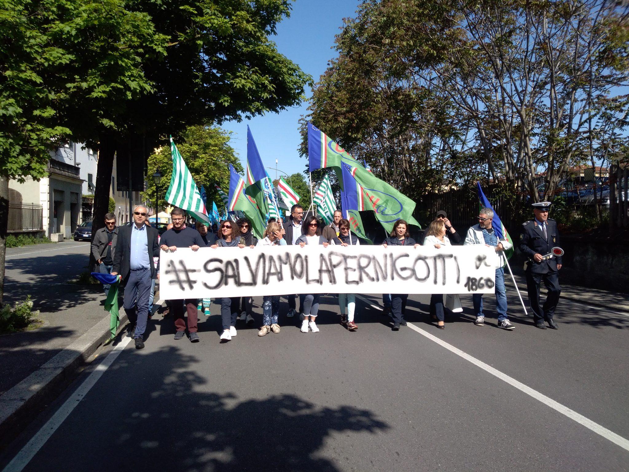 Pernigotti corteo protesta