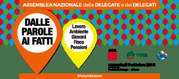 """""""Dalle parole ai fatti"""": assemblea nazionale il 9 ottobre ad Assago per il futuro del lavoro e del Paese"""