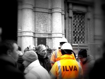 lavoratori Ilva in piazza a Novi