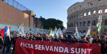 ilva manifestazione Roma