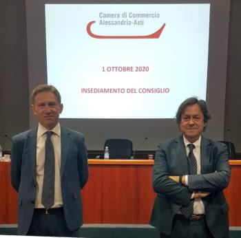 Insediato il nuovo Consiglio della Camera di Commercio AL-AT. Gian Paolo Coscia Presidente. Marco Ciani rappresenterà i sindacati delle 2 province