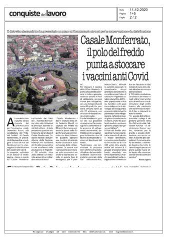 CISL e FIM/CISL Alessandria Asti sulle potenzialità di Casale M.to come hub del freddo