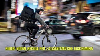Alt del Garante all'algoritmo che discrimina i rider