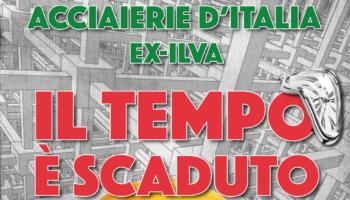Novi Ligure – Sciopero alle Acciaierie d'Italia (EX Ilva), presidio e corteo dei lavoratori
