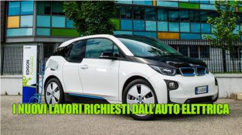 Fabbricazione dell'auto elettrica, le aziende sono alla ricerca di nuove professionalità