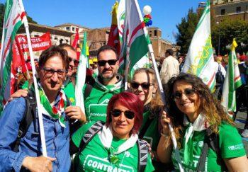 ContrattoADESSO! La Fisascat territoriale a Roma per lo sciopero di 600mila addetti ai servizi pulizia e multiservizi