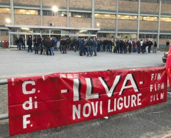Ex Ilva, sciopero a oltranza nella fabbrica di Novi Ligure