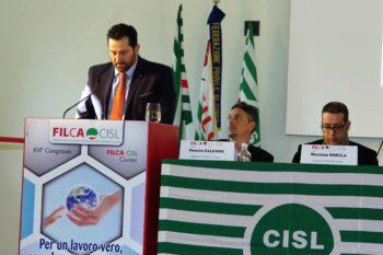 Il XVI Congresso Filca Cisl Cuneo rielegge Battaglia segretario generale