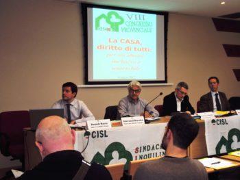 L'Italia è sprovvista di una politica dell'edilizia pubblica sufficiente. Daniele Racca confermato segretario generale del Sicet di Cuneo