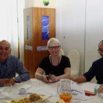 Insieme per il bene comune - La segretaria generale Cisl Scuola Cuneo, Claudia Zanella, con un gruppo di lavoro