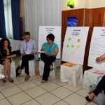 Insieme per il bene comune - La segretaria Ust Cisl Cuneo, Tiziana Mascarello, con un gruppo di lavoro