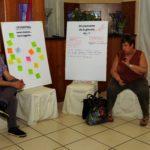 Insieme per il bene comune - La segretaria generale Cisl Scuola Piemonte Mariagrazia Penna con un gruppo di lavoro