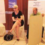 Insieme per il bene comune - La segretaria generale Cisl Scuola Cuneo Claudia Zanella con un gruppo di lavoro