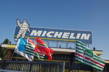 """Cassa integrazione di quattro settimane alla Michelin di Cuneo. Costituito  il """"Comitato di sicurezza covid-19"""""""