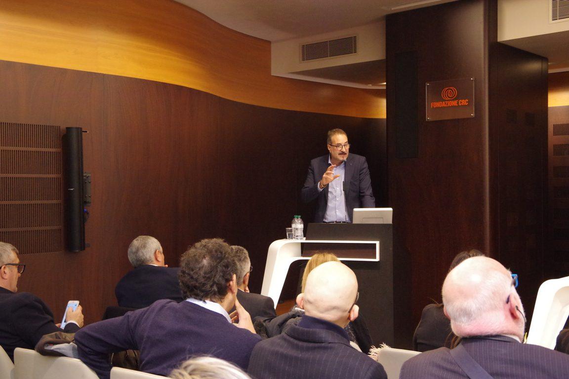 L'intervento di Enrico Solavagione dopo l'elezione a segretario generale della Cisl di Cuneo