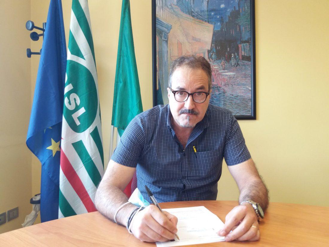 Il segretario generale Cisl Cuneo, Enrico Solavagione, è intervenuto all'incontro della Fondazione Crc