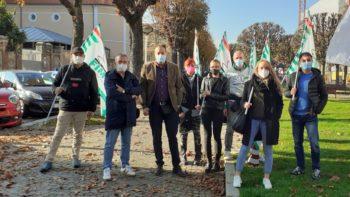 Buona adesione allo sciopero dei metalmeccanici della Granda