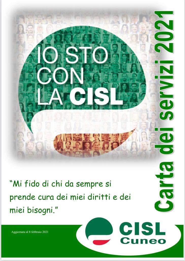 La carta dei servizi Cisl 2021