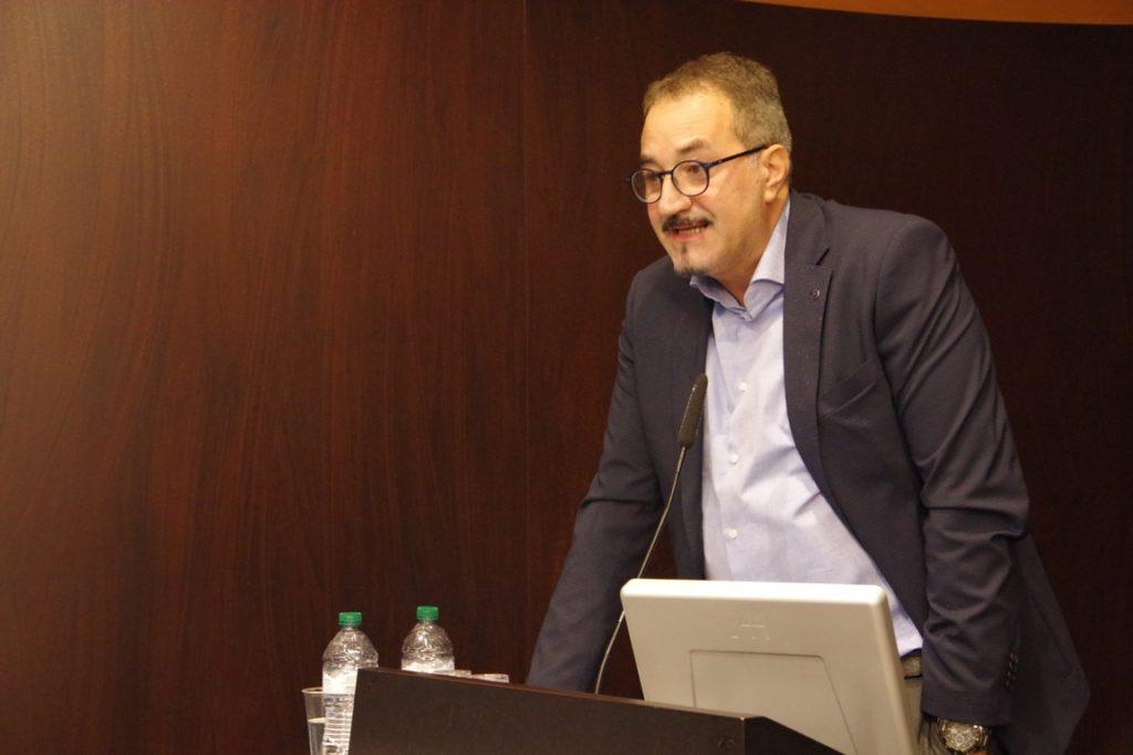 Il segretario generale Cisl Cuneo, Enrico Solavagione