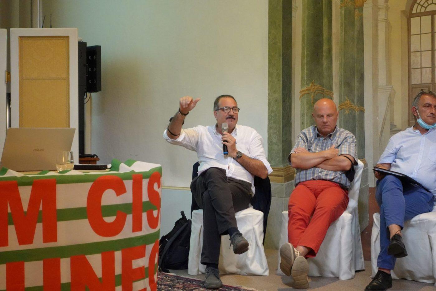 L'intervento del segretario generale della Cisl Cune al direttivo della Fim di Cuneo