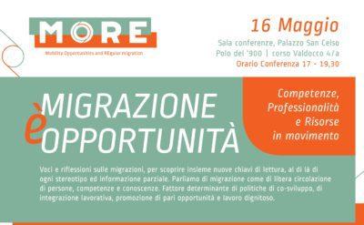 Migrazione è opportunità: competenze, professionalità e risorse in movimento – Giovedì 16 la conferenza di Anolf Piemonte