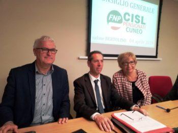 Matteo Galleano è il nuovo segretario generale della Fnp Cisl Cuneo. Insieme a lui sono stati eletti Angelo Vero e Lina Simonetti