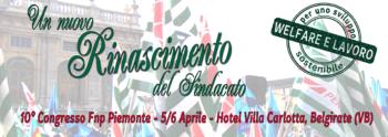 10° Congresso Fnp Cisl Piemonte