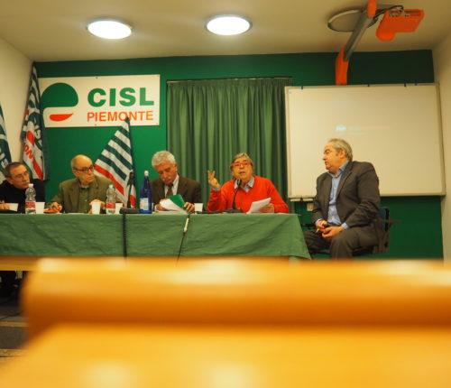 Il Consiglio generale Cisl Fnp Piemonte del 19/12/2017 presidenza