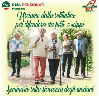 Anziani: il rapporto della Fnp Cisl Piemonte su truffe, furti e scippi