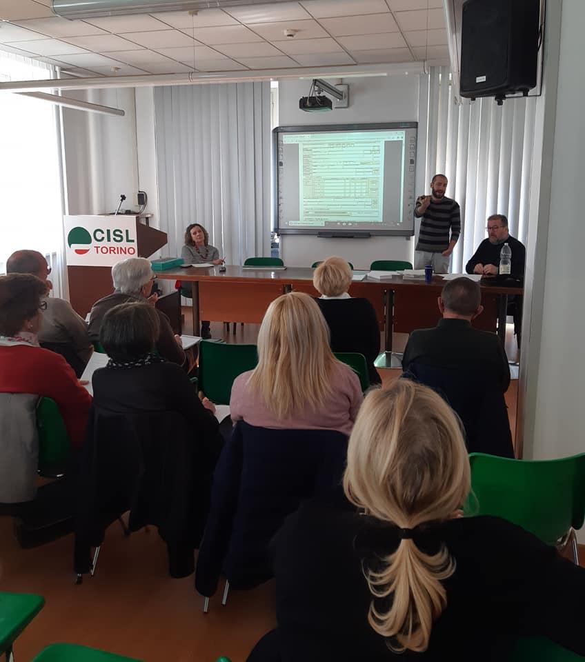 L'incontro nella sede di Torino