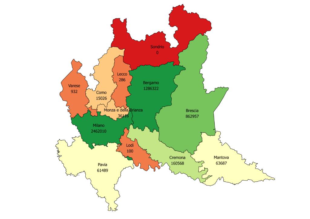 Piemonte E Lombardia Cartina.Il Recupero Dell Evasione Fiscale In Piemonte Lombardia Emilia Romagna E Veneto Cisl Pensionati Fnp