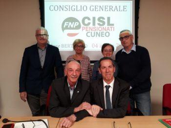 Eletta la nuova Segreteria Fnp Cuneo: Matteo Galleano, segretario generale, affiancato da Angelo Vero e Lina Simonetti