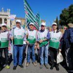 Parte delle delegazione di Cuneo