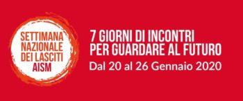 Settimana del Lasciti 2020: Fnp Piemonte è nuovamente partner di AISM