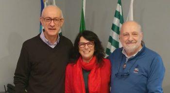 Enrico Zanolini eletto Segretario Generale della Fnp Piemonte Orientale. Con lui Rossana Moscato e Vincenzo Cupelli