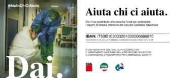 Il contributo della Fnp Piemonte alla sottoscrizione Cgil-Cisl-Uil #AiutaChiCiAiuta
