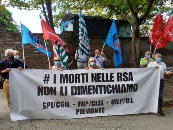 Fnp-Spi-Uilp Piemonte: le vittime nelle RSA si potevano evitare