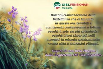 Auguri di Buona Pasqua dalla Fnp Piemonte