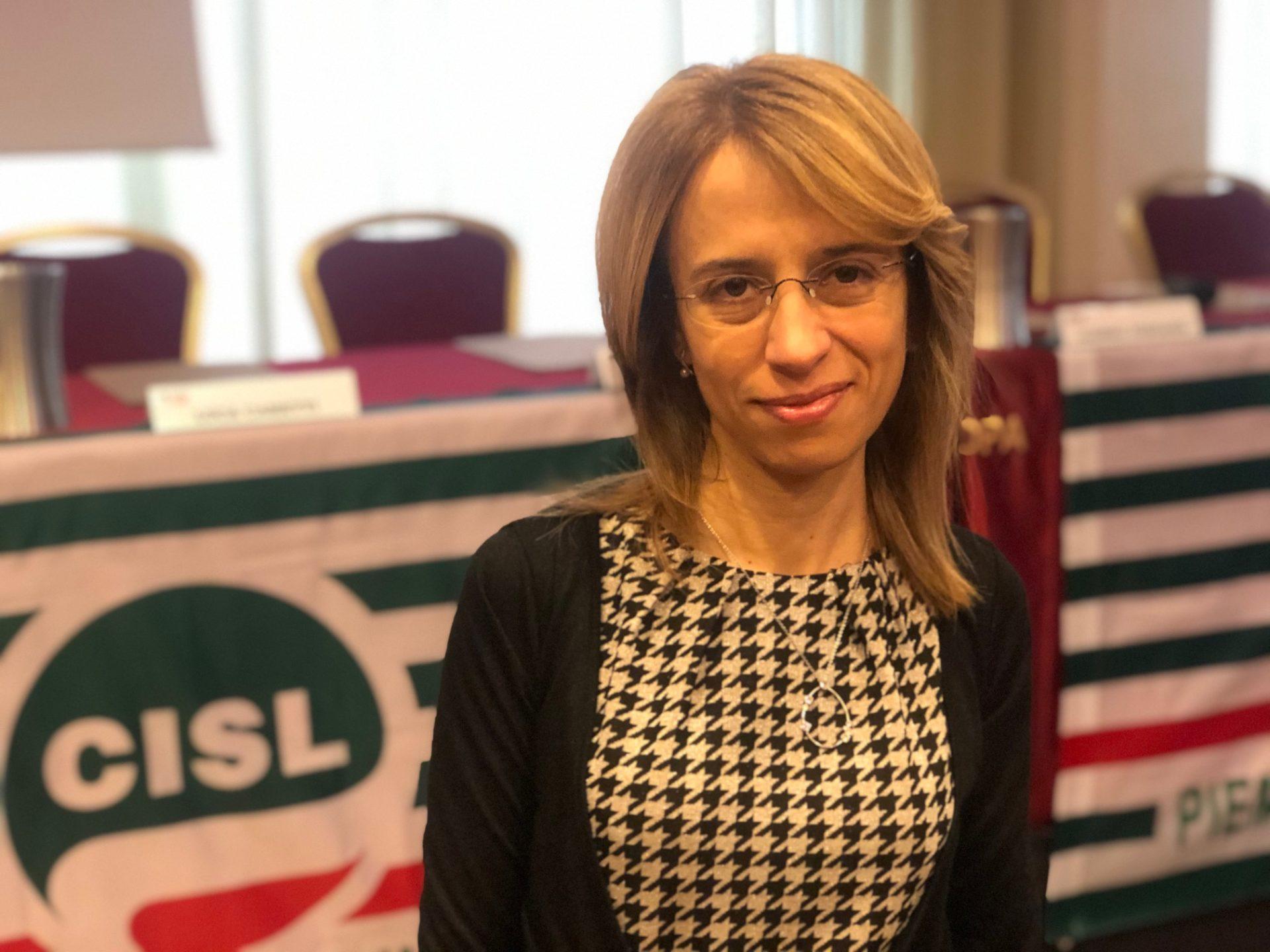 Elena Ugazio segretaria generale